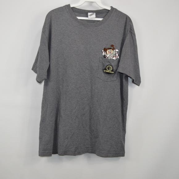 0f7e097a2 Warner Bros. Shirts   Vintage Wb Warner Brothers Mens Large Taz T ...